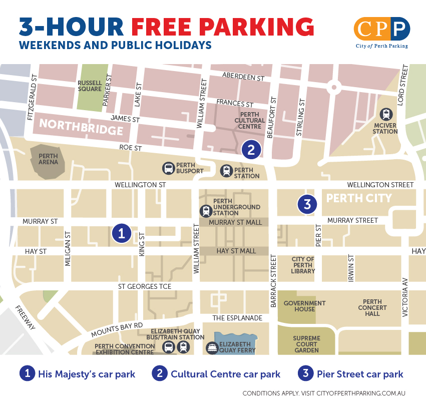 3-Hour Free Parking - Feb 2021