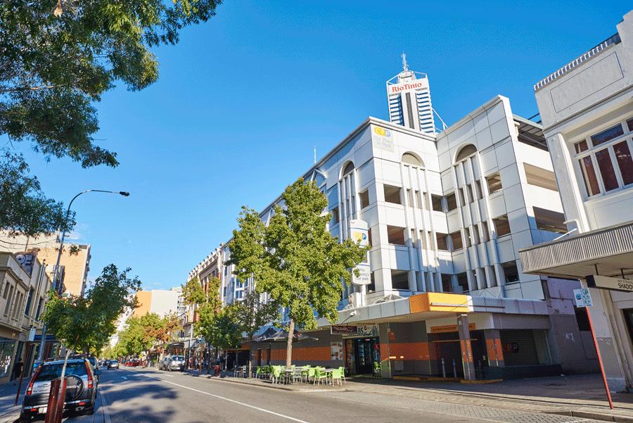 Ibis Hotel Perth Car Park