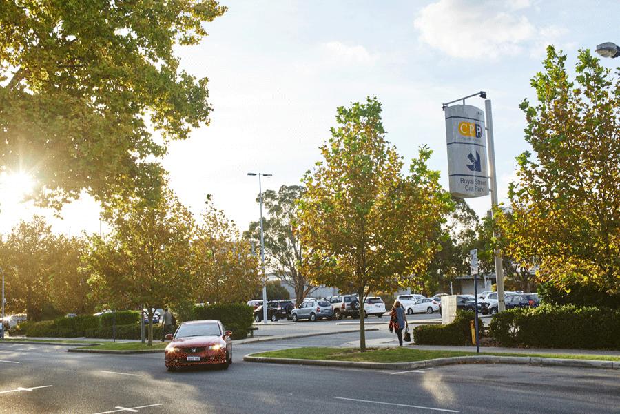Royal Perth Hospital Car Park