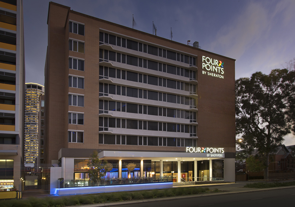 4 Points Hotel at Night