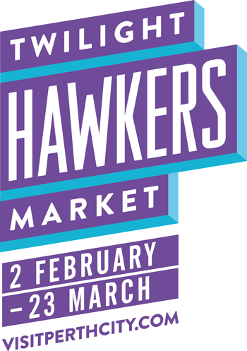 Twilight Hawkers Market Logo