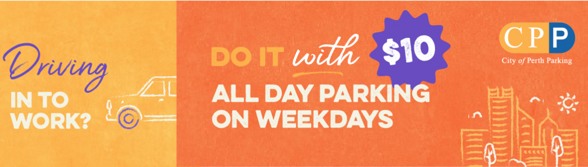 $10 weekday parking