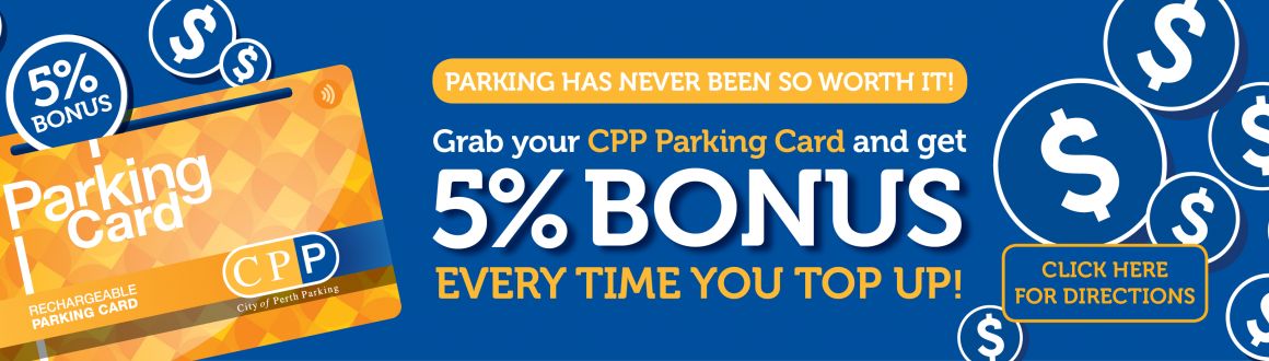 CPP Parking Card promotion