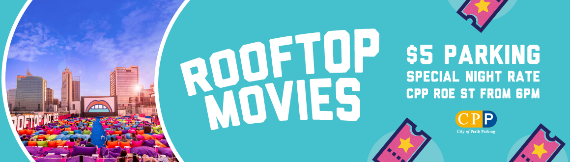 Rooftop Movies $5 Parking